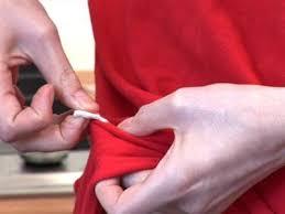 Uklanjanje žvake sa odjeće